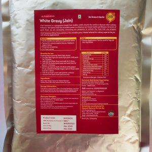 Chef Solutions White Gravy (Jain) - Ready to Cook, 1Kg